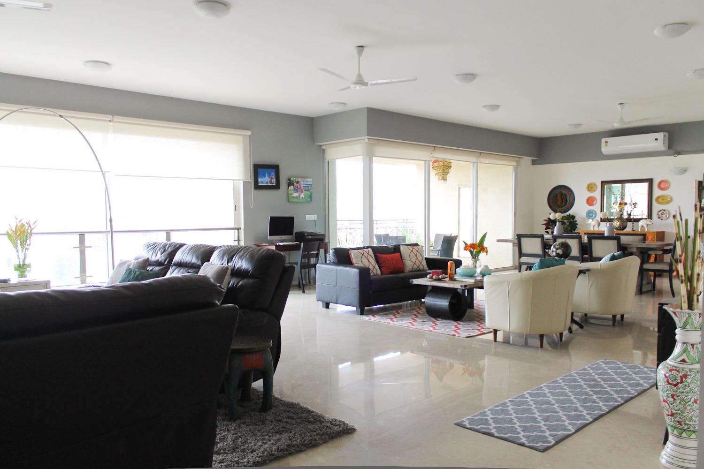 Modern Rustic Indian Design Home - Chuzai ☆ Living