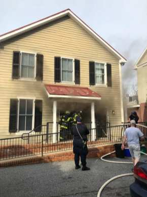 Structure Fire in Kent County