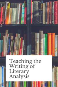 In this blog post, I describe a 3-step approach I've taken for teaching literary analysis writing to my undergraduate students.