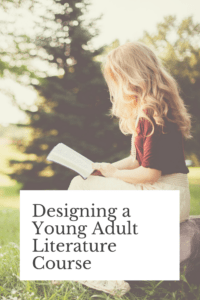 In this blog post, I describe the booklist I chose and the major assignments I created for my first young adult literature course. For more information on this course, check out my website page devoted to it.