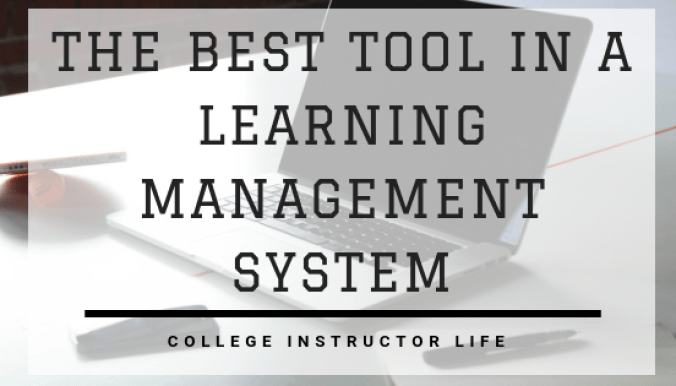 The BEST Tool in a Learning Management System