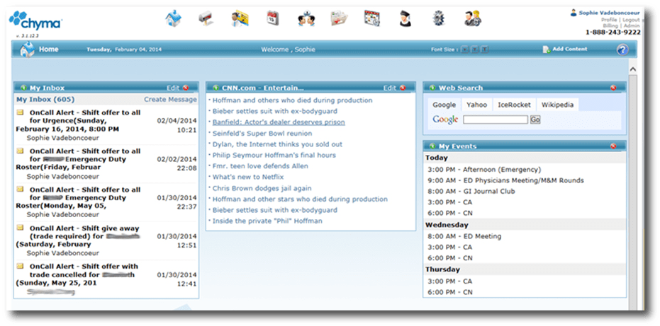 Chyma Home Portal