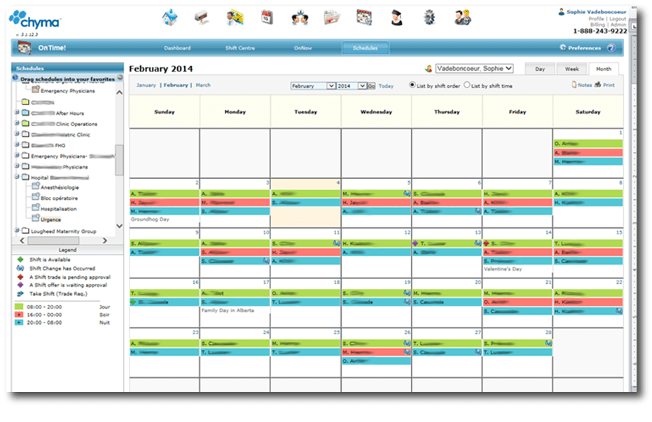Chyma Scheduling Tool