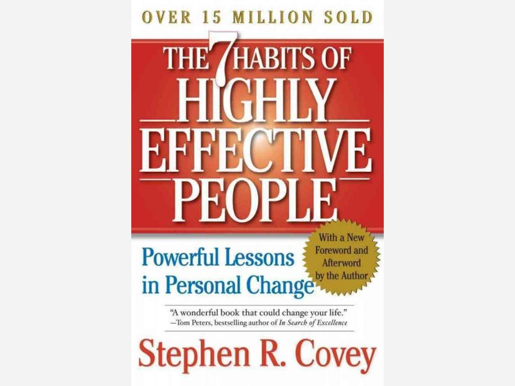 7 Habits Of Highly Effective People Stephen Covey The