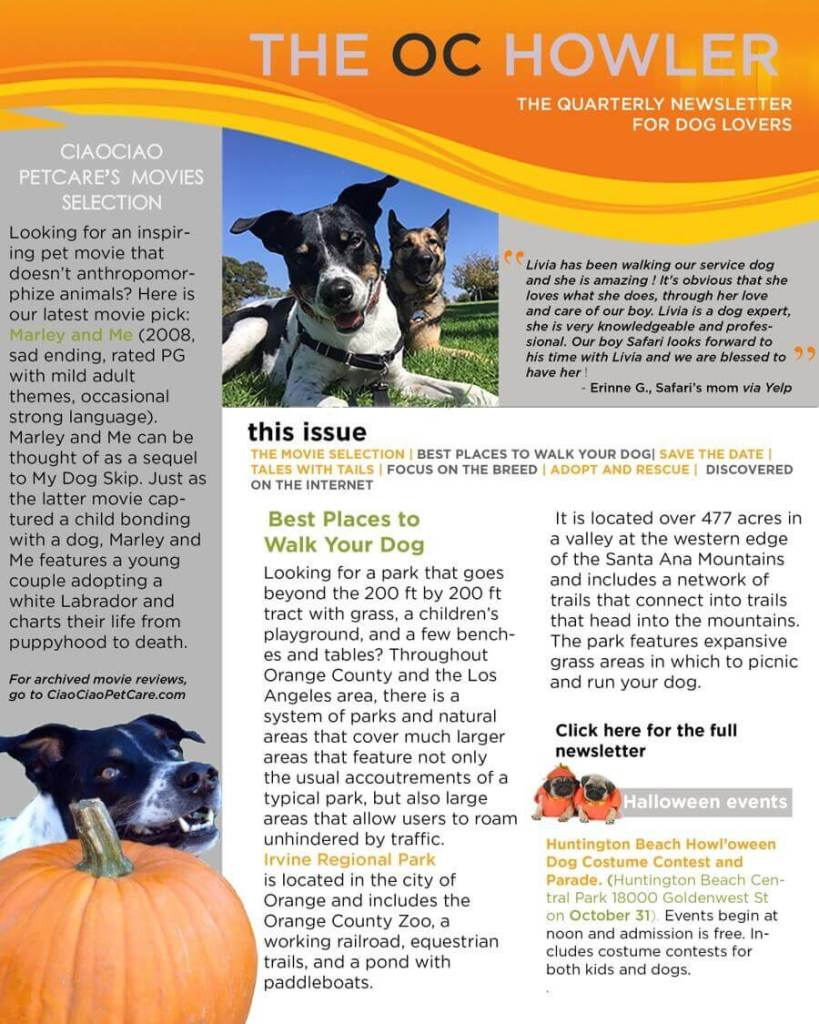 The OC Howler - October 2017 Issue - Page 1