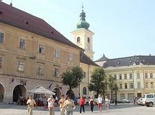Cercando gli occhi della Piazza Grande di Sibiu