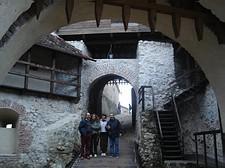Bloccati dentro la cittadella fortificata di Prejmer