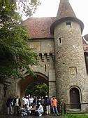 Vicino il Castello di Peles Sinaia