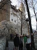 Sulle scale del castello di Dracula