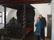 Castello di Dracula -il letto
