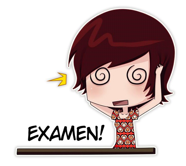 Resultado de imagen para estres en examenes