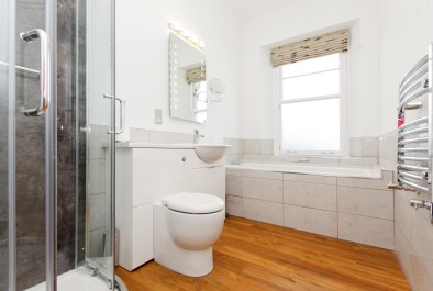 Above Town, Dartmouth, Property refurbishment,, Bathroom