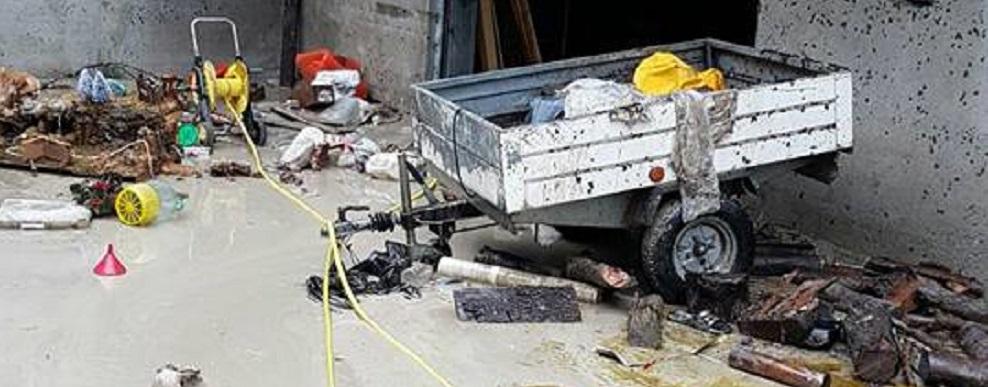 Ancora foto dei danni a Casignana, Bianco ed Africo