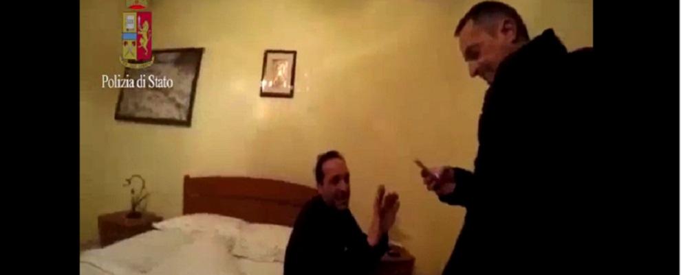 """Arrestato il latitante PESCE Marcello, alias """"Il ballerino"""" – i video"""