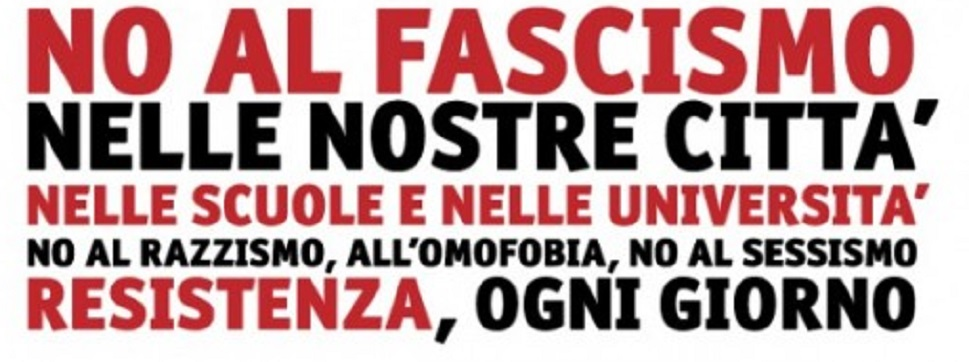 Ciavula si schiera contro il nuovo fascismo, al fianco del Sindaco di Sant'Alessio d'Aspromonte