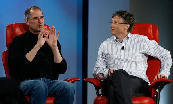 Jobs guardou uma carta, de Gates.