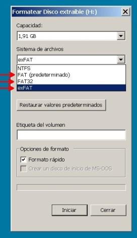 Formatio Windows