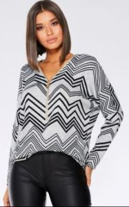 next quiz chevron top