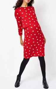 asda george red dress