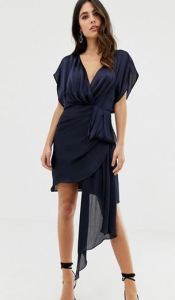 asos chiffon dress