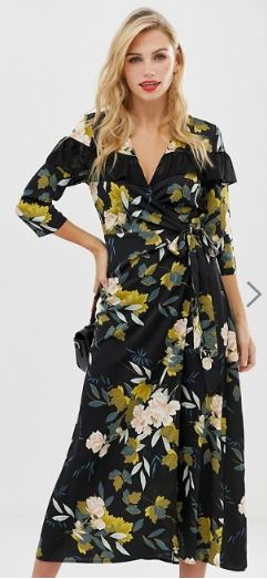 asos liquorice dress