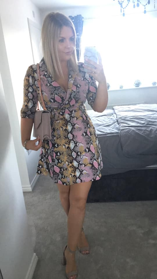 Charlotte Chase new look leopard dress