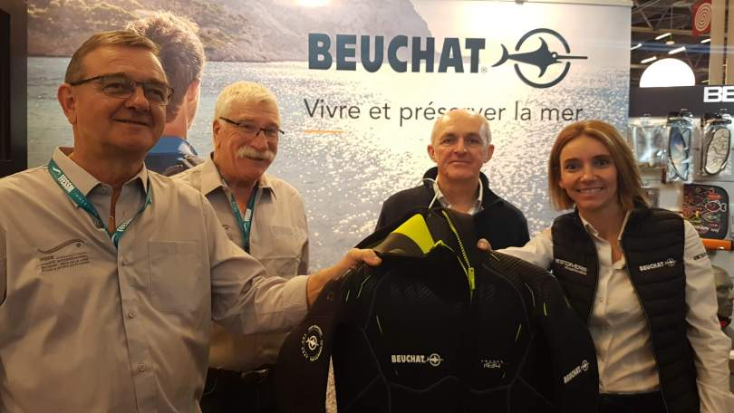 Partenariat Banque Populaire Grand Ouest, Beuchat et CIBPL-FFESSM