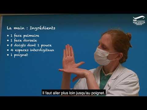 Tutoriel : Bien se laver les mains
