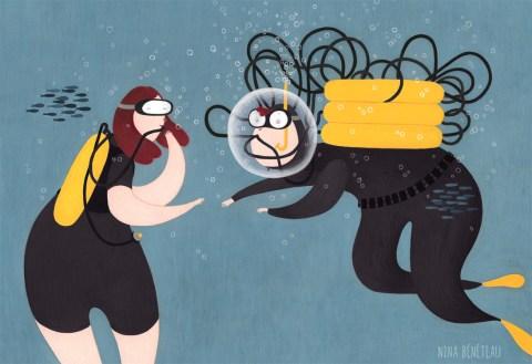 Idée reçue n°5 : Le plongeur s'encombre de matériels lourds et respire de l'oxygène (5/10)