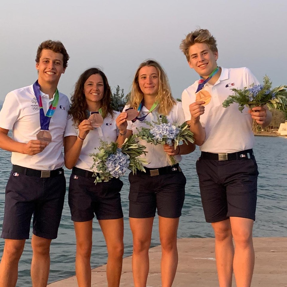 3 médailles aux jeux méditerranéens de la plage