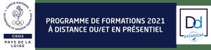 CROS Pays de la la Loire - Formations 2021