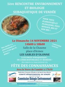 Rencontre biologie et environnement, le 14 novembre