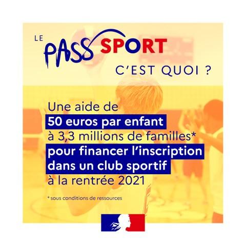 Pass'sport pour les jeunes
