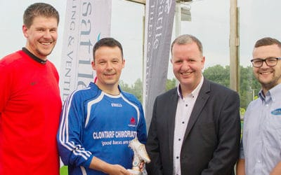 CIBSE Ireland's annual Young Engineers Network (YEN) Five-a-side Soccer tournament got under last month