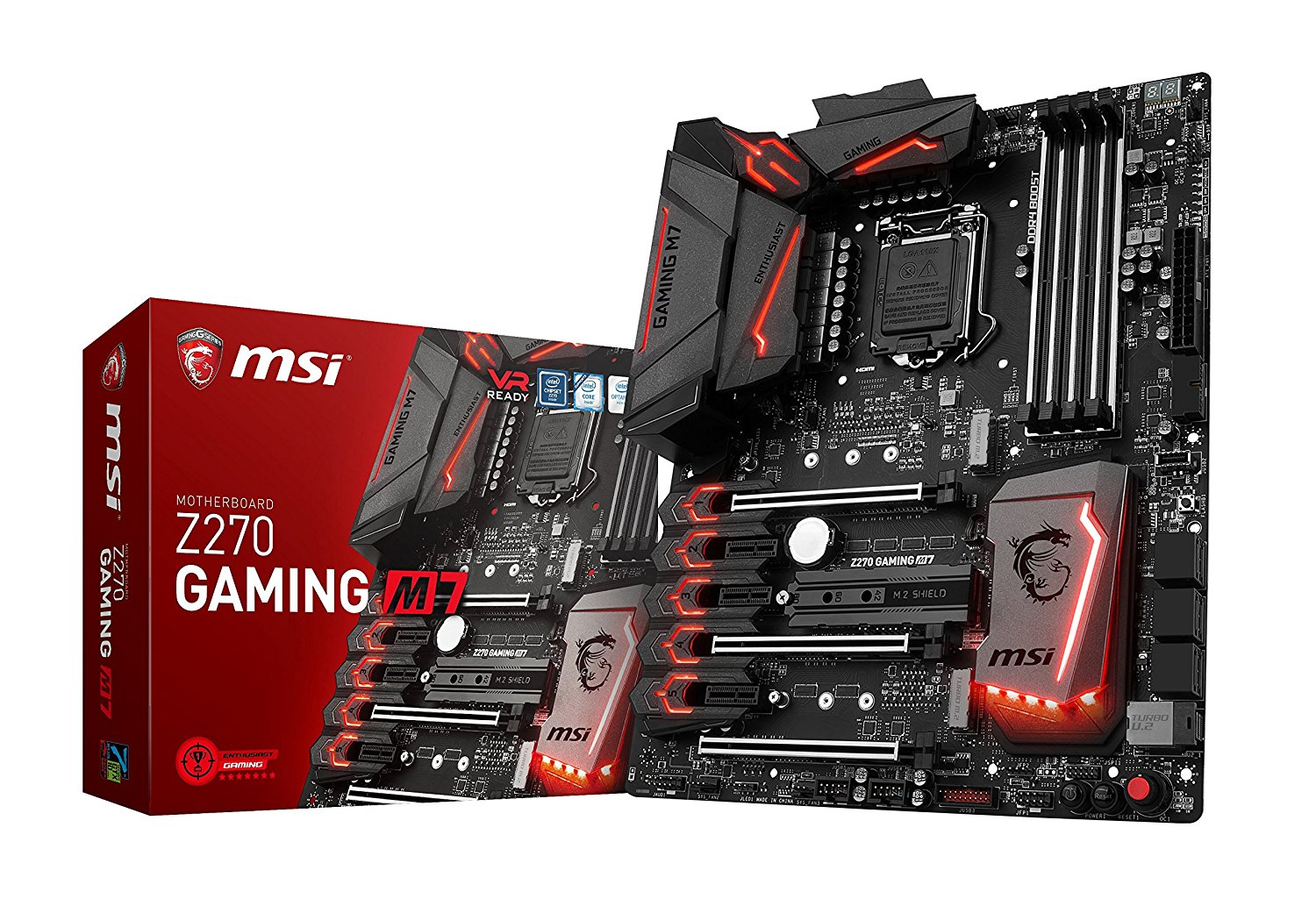MSI Z270 Gaming M7 Scheda Madre, Interfaccia ATX