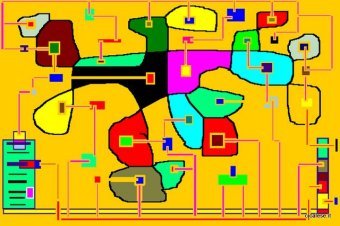 DEU SEX MACHINE (1997) digital paint