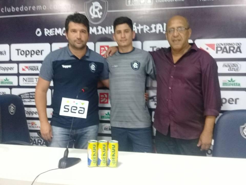 Felipe Pará é novo reforço do Clube do Remo