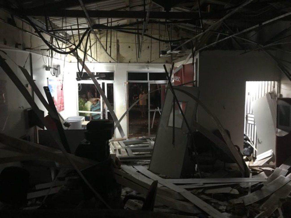 Criminosos explodem agência bancária em Senador Alexandre Costa – MA