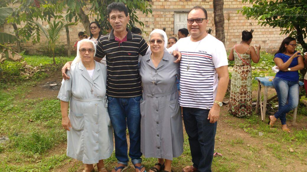 Padre Romildo é recebido com festa em Nova Olinda do Maranhão