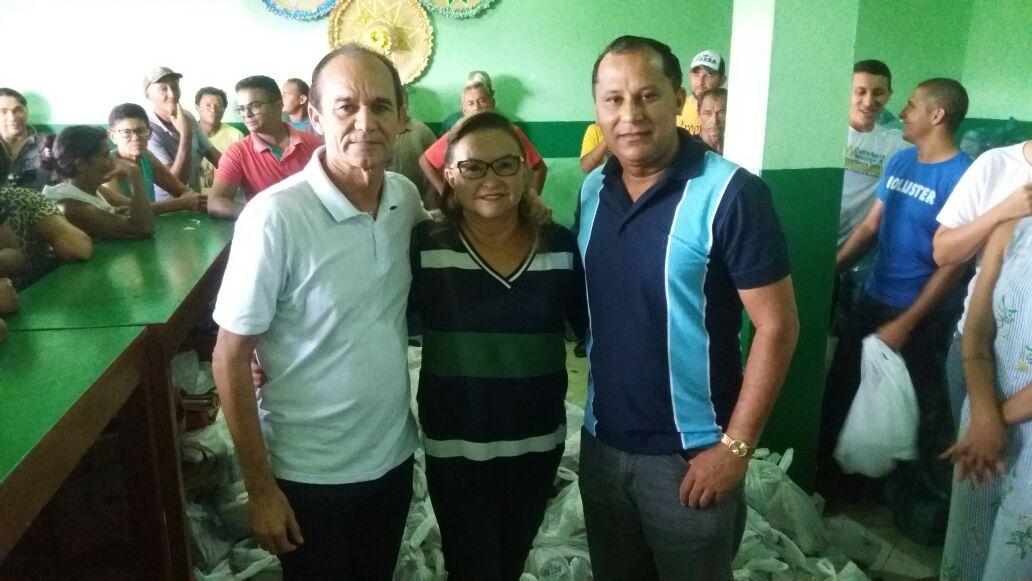 Prefeitura de Nova Olinda do Maranhão inicia entrega de cestas para a Semana Santa