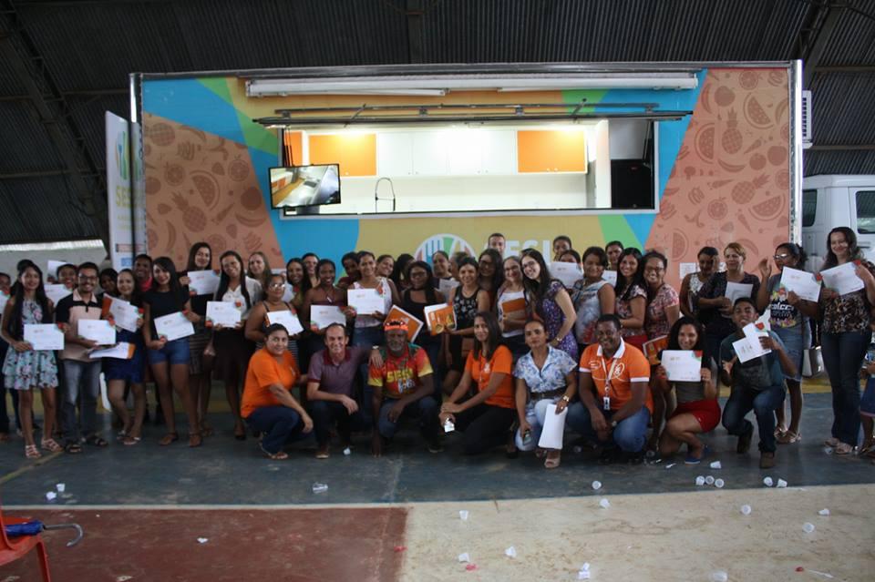 """Curso """"Alimentação Saudável"""" é encerrado em Nova Olinda do Maranhão"""