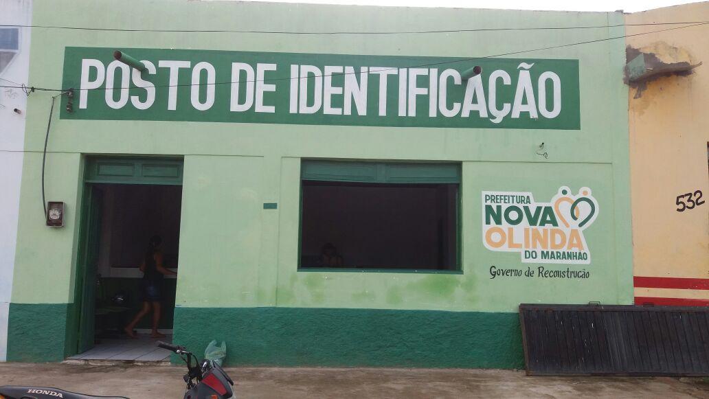 Prefeitura  de Nova Olinda do Maranhão reabre posto de identificação