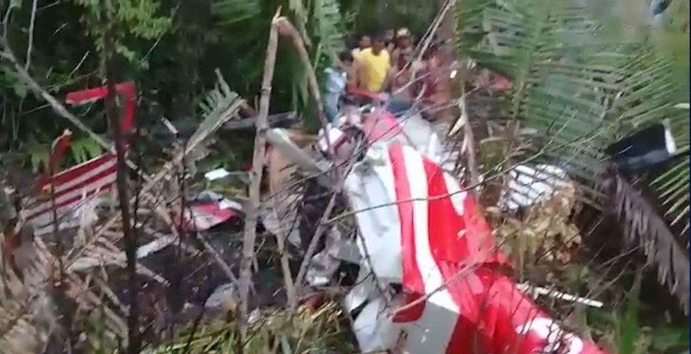 Quatro pessoas morrem após queda de helicóptero no interior do Maranhão