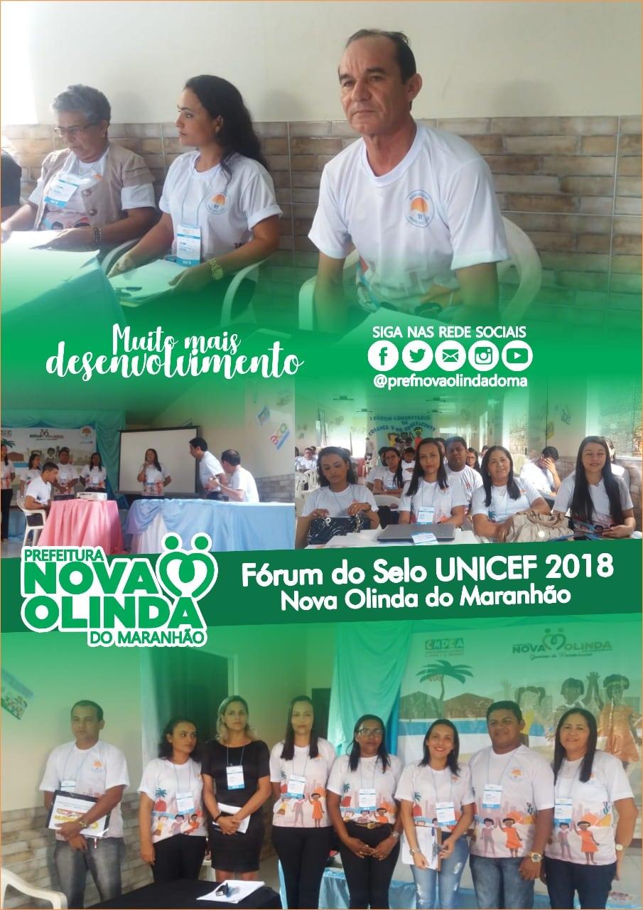 Prefeitura de Nova Olinda do Maranhão realiza Fórum sobre Selo UNICEF