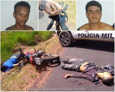 Após assalto a Correios de Governador Nunes Freire, bandidos tombam em confronto com a PM
