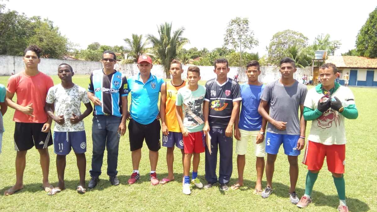 Escolinha do NOEC / SEMEJ realizaram mais uma avaliação do Sport Recife em Nova Olinda do MA