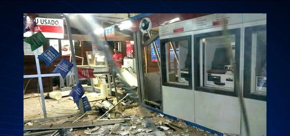 Bandidos explodem e roubam agência bancária no Maranhão