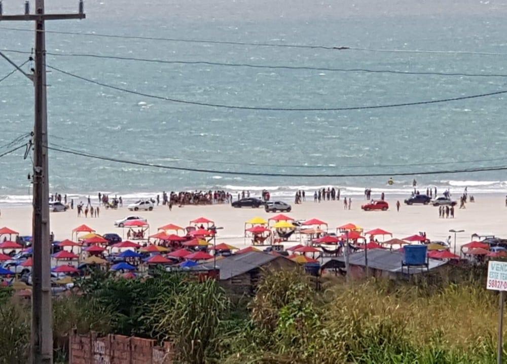 Tragédia ! Irmãos adolescentes se afogam na Praia do Araçagy neste domingo