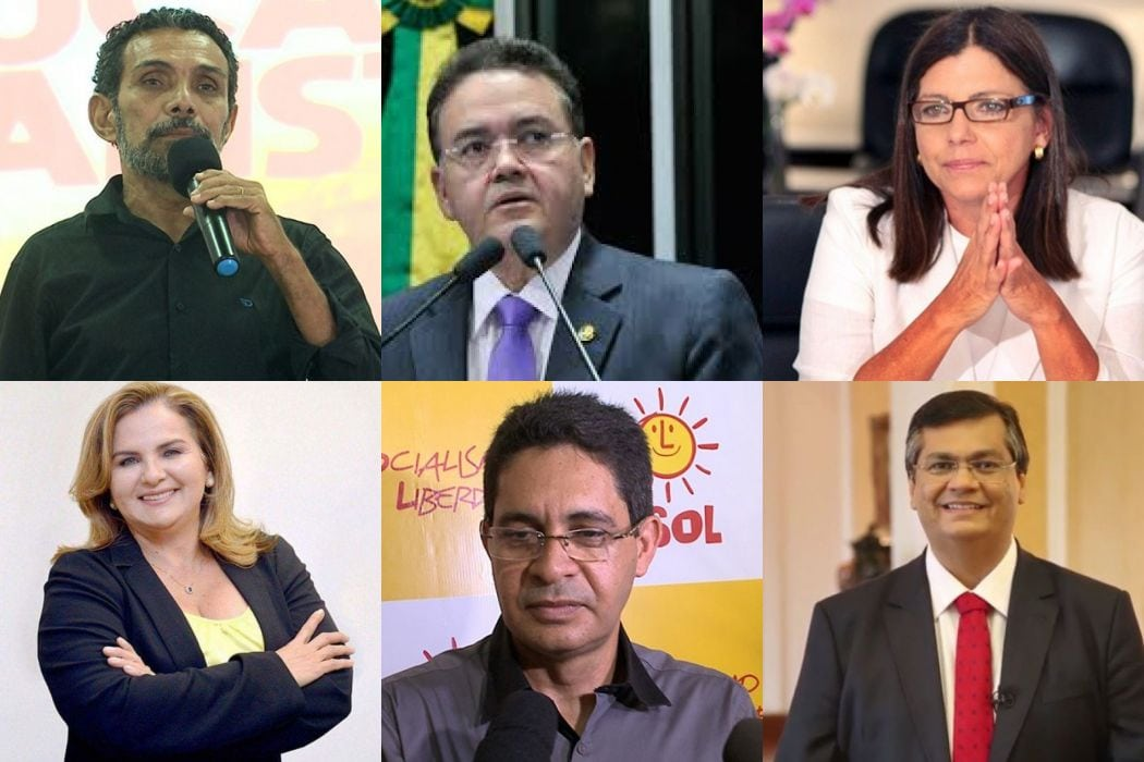 Confira a agenda dos candidatos ao governo do Maranhão para esta quarta