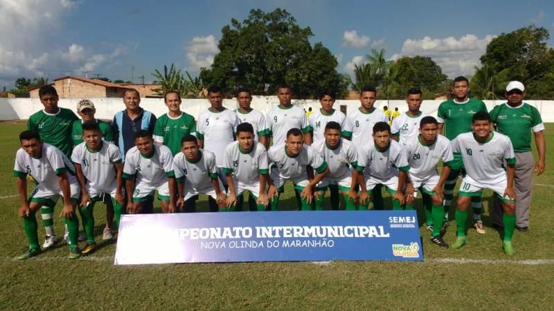 Seleção de Nova Olinda vence Turiaçu pelo Campeonato Intermunicipal